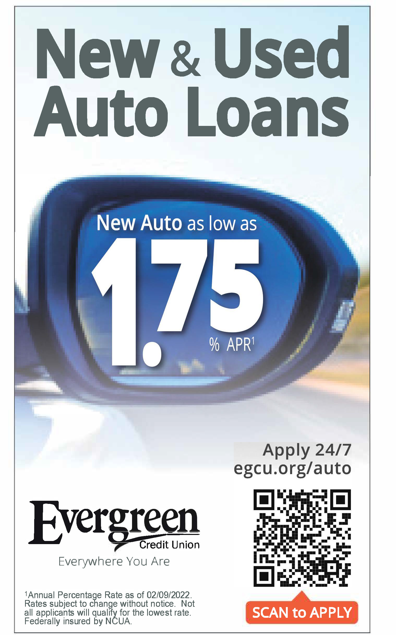 #EvergreenCreditUnion