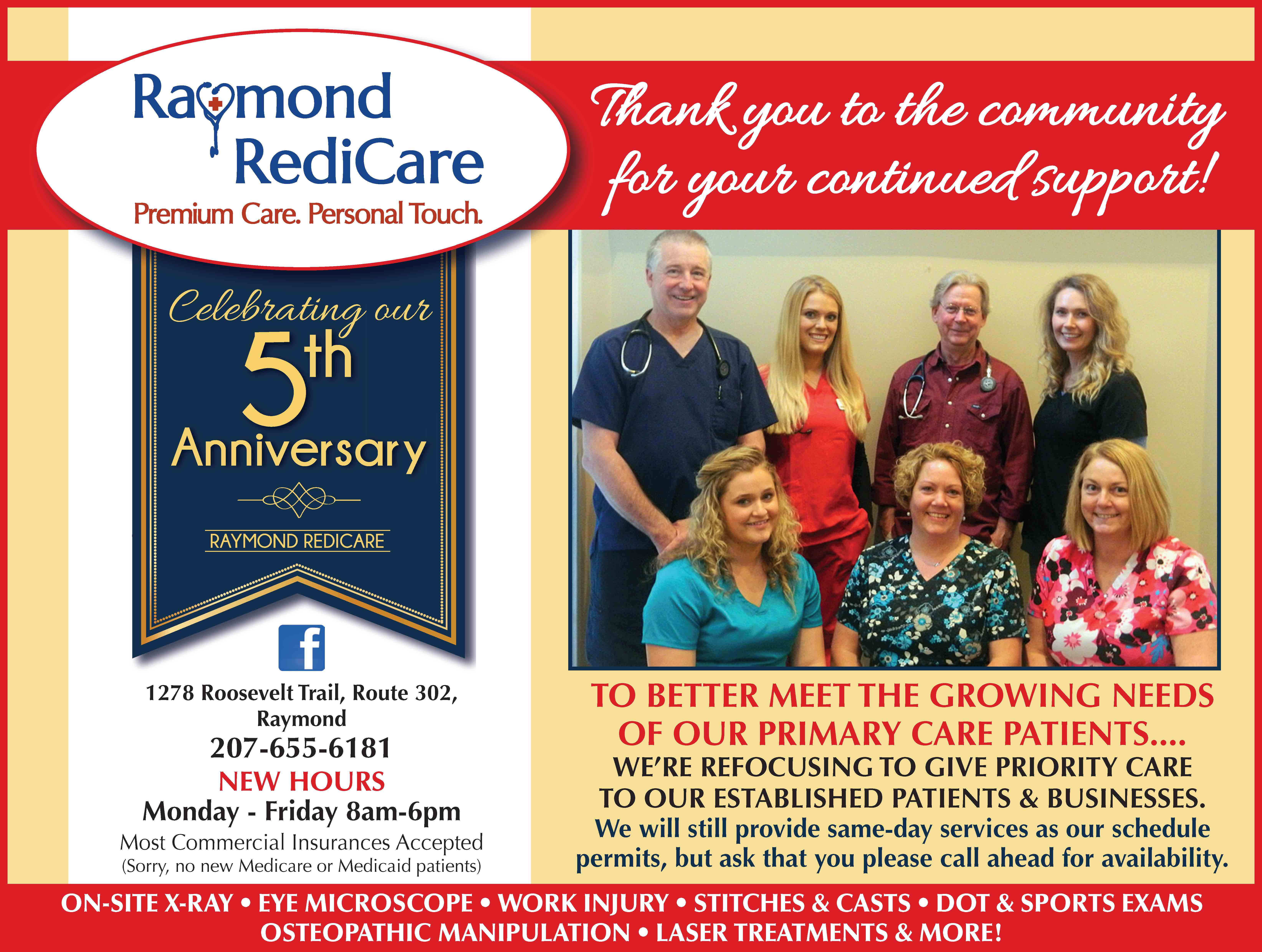 https://www.facebook.com/RaymondRediCare/