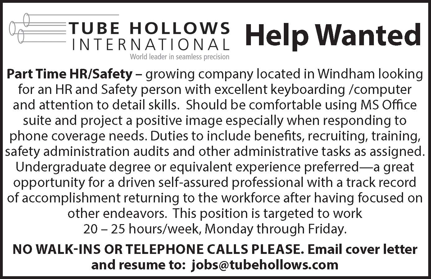 jobs@tubehollows.com